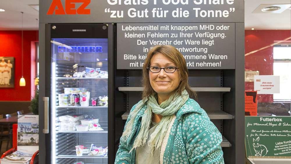 [lokal Fürstenfeldbruck nähe München] Kostenlose MHD-Lebensmittel @ AEZ Markt
