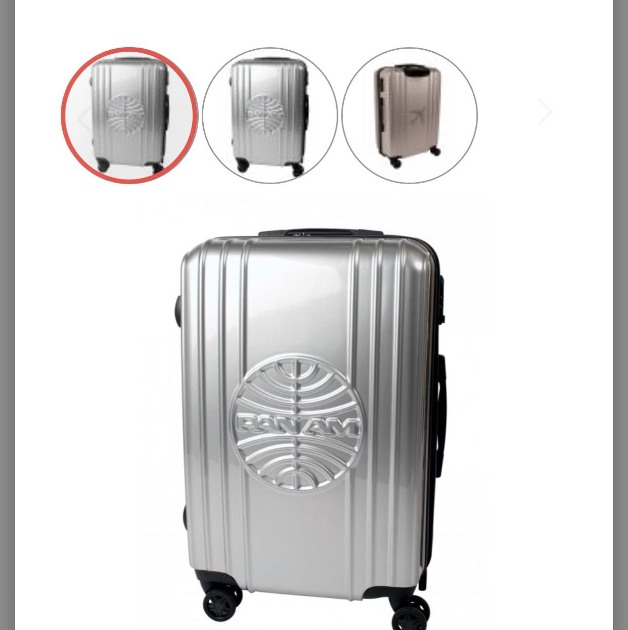[top12.de] Reisegepäck und Zubehör – z.B. Pan Am Trolley Hartschalen-Koffer für 95,12€ (statt 249€)