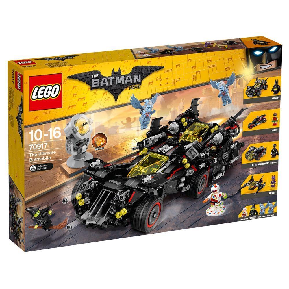 20% auf Spielwaren mit Gutscheincode spielen-41: z. B. LEGO Batman - Das ultimative Batmobil (70917) für 86,82€ [interspar.at]
