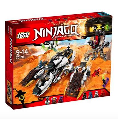 Nur heute 12% Rabatt oder 10€ ab 49€/59€ MBW bei [babywalz] z.B. Lego Ninjago - Ultra-Tarnkappen-Fahrzeug (70595)