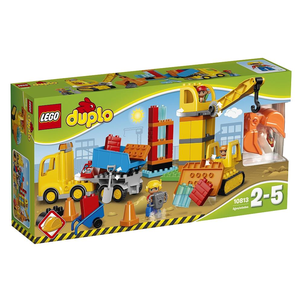 Lego Duplo - 10813 Große Baustelle - versandkostenfrei