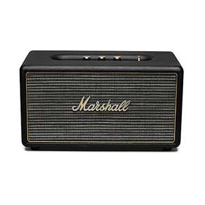 [NBB] Marshall Acton (schwarz) - Aktiver Stereo-Lautsprecher (Bluetooth V4.0 + EDR, Line-In)