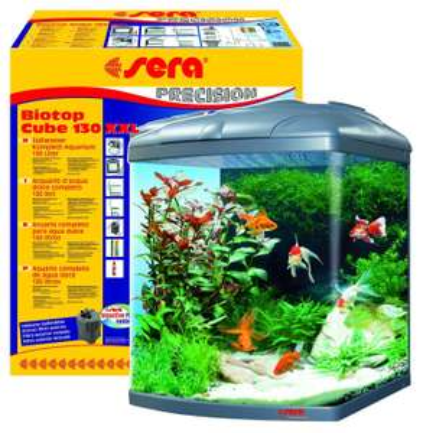 sera Cube 130L  Aquarium + Filter großes set     (Amazon)