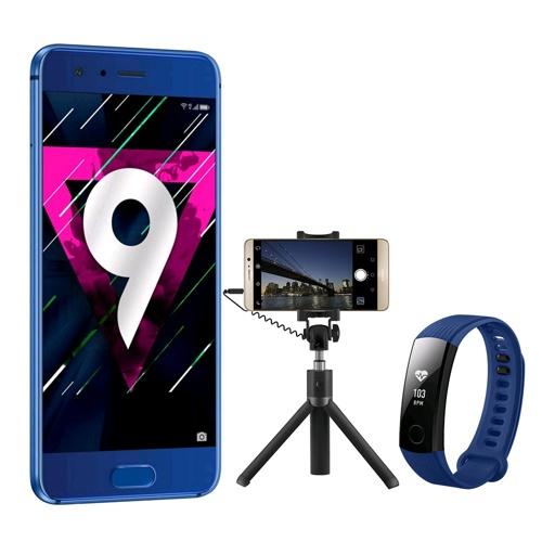 [vMall] Honor 9 + Tripod Selfie Stick + Honor Band 3 im Bundle | SanDisk Ultra 128GB | Honor Band Z1 | und mehr