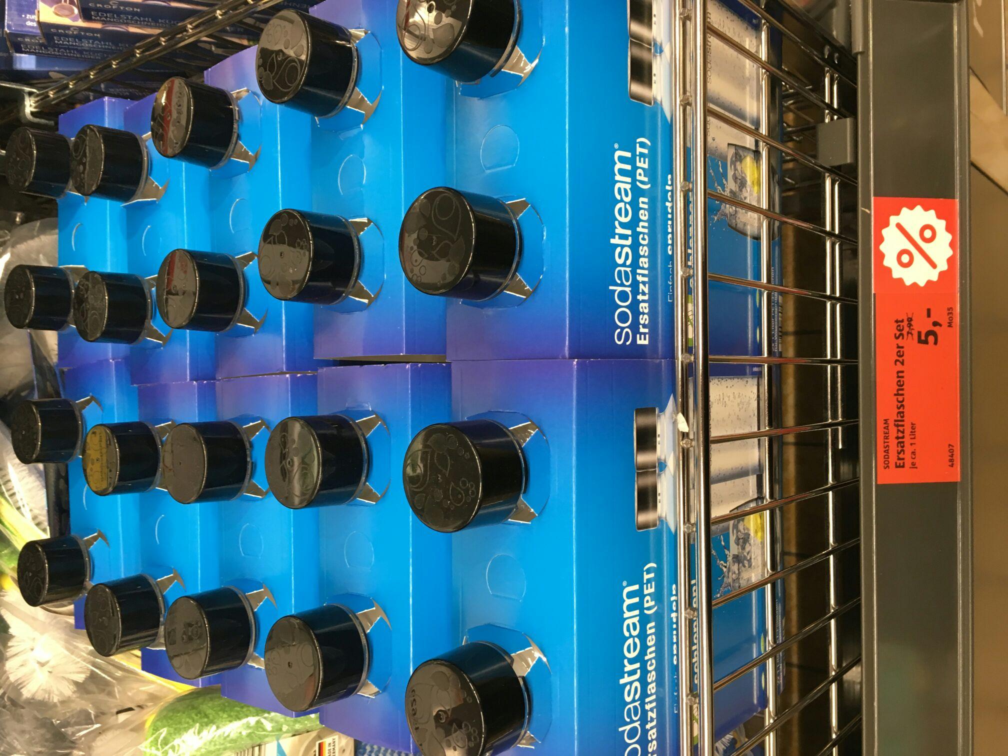 [Lokal Aldi Freigericht] SodaStream 1 L PET-Ersatzflaschen 2er-Pack
