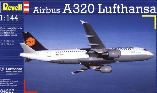Revell Modellbausatz Flugzeug 1:144 - Airbus A320 Lufthansa - Amazon Prime