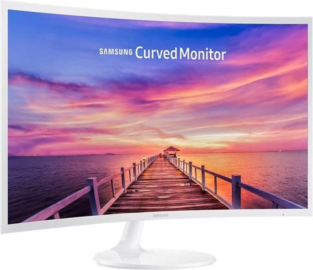 Samsung C32F391FWU - 31,5 Zoll Curved Monitor in Weiß
