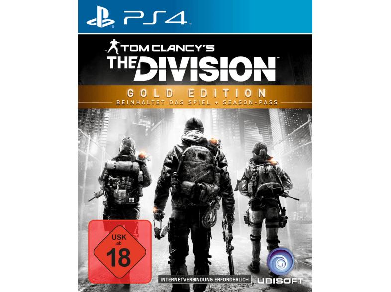 Tom Clancy's: The Division Gold Edition (PS4) für 25€ versandkostenfrei, Xbox One für 25€ bei abholung (Saturn)