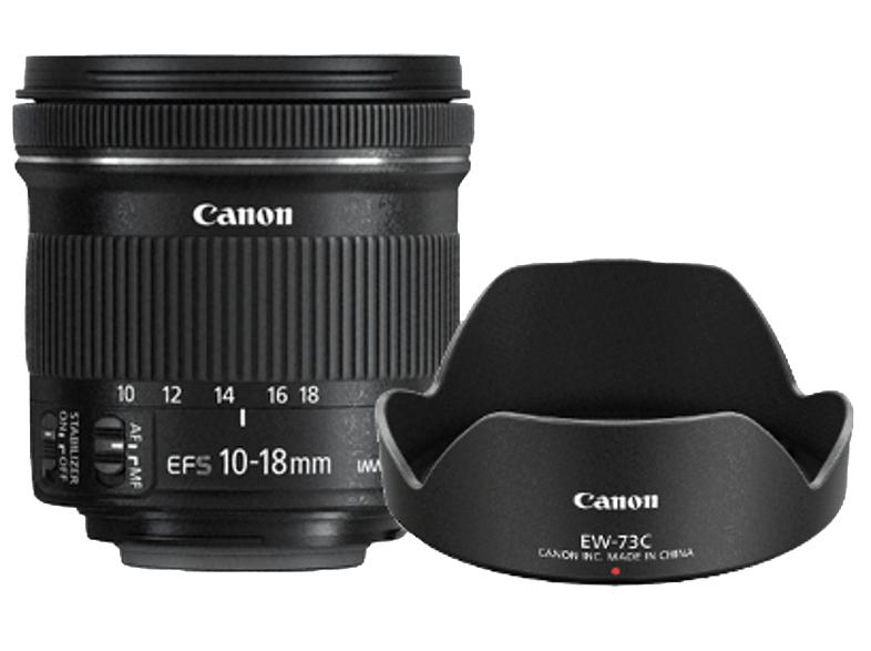 [SATURN bis 16.10.] - Canon EF-S 10-18mm f/4.5-5.6 IS STM inkl. Original-Canon-GELI EW-73C und SANDISK Ultra Micro-SDHC Speicherkarte, 32 GB, 80 MB/s, Class 10