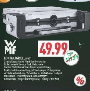 [Marktkauf Rhein-Ruhr] WMF Lono Kontaktgrill 2in1 für 49,99€