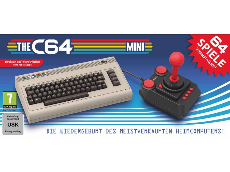 [Vorbestellung] THE C64 MINI Brotkasten mit 64 Spielen und Joystick (MM und Saturn)