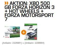 [Saturn] MICROSOFT Xbox One S 500GB Konsole - Forza Horizon 3 Hot Wheels Bundle + FIFA 18 + Forza Motorsport 7 für 249,-€ bei Abholung