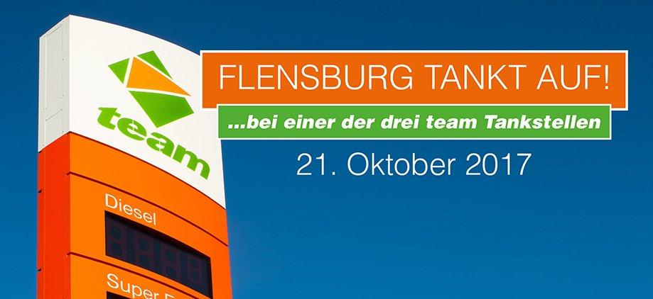 Gratis tanken [lokal Flensburg]