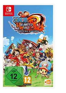 One Piece Unlimited World Red - Deluxe Edition - [Nintendo Switch]