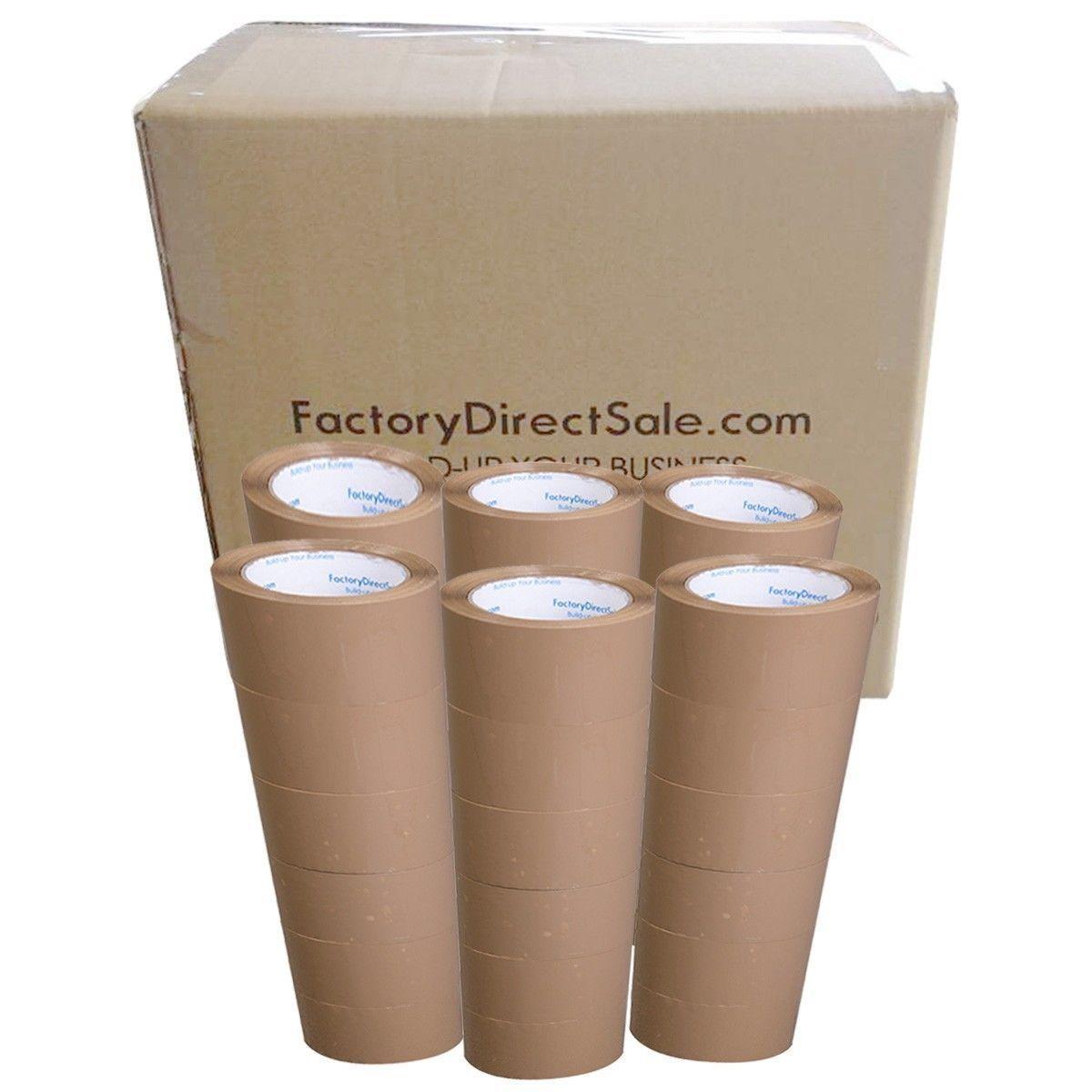 36 Rollen Paketklebeband 48mm 66m