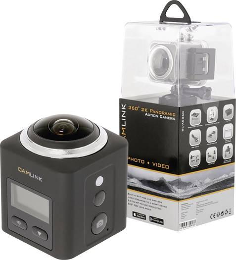 CAMLINK Action Cam CL-AC360  360 Grad ActionCam voelkner.de