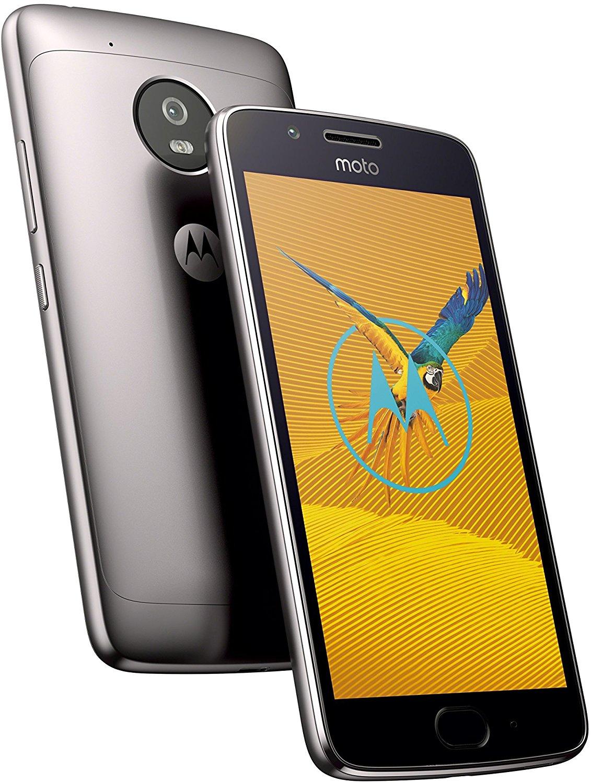 Lenovo Moto G5 Dual-SIM (5'' FHD IPS, Snapdragon 430 Octacore, 3GB RAM, 16GB eMMC, 13MP + 5MP Kamera, 2800mAh wechselbar, Android 7) [Amazon]