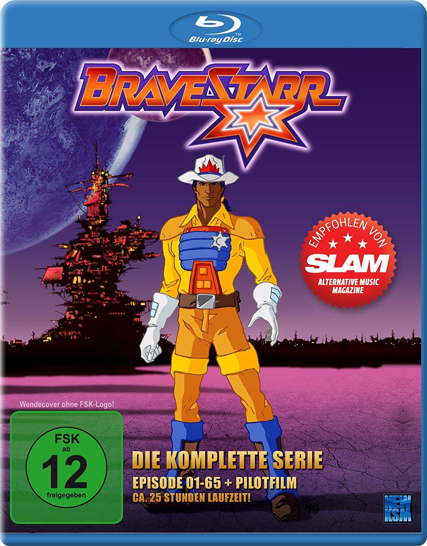 Bravestarr - Die komplette Serie (Episoden 1-65 + Pilotfilm) (Bluray) für 9,97€ [Amazon Prime]