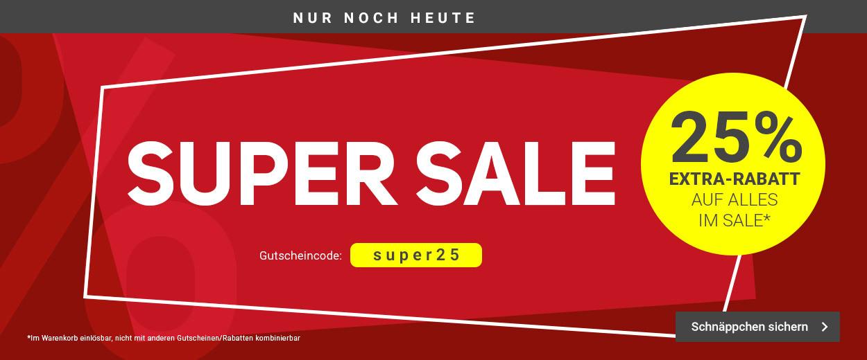[teenis-point] 25% Extra Rabatt auf alles im Sale