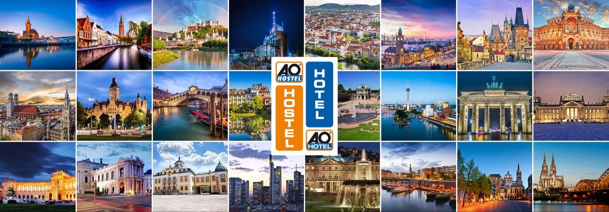 Europa - 32 A&O Hotels - 5 Tage für 2 Personen inkl. Frühstück