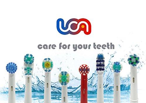 20 Ersatzzahnbürsten für Oral-B 3D PRO Bright/Dual Clean/Precision Clean/TriZone/FlossAction etc.