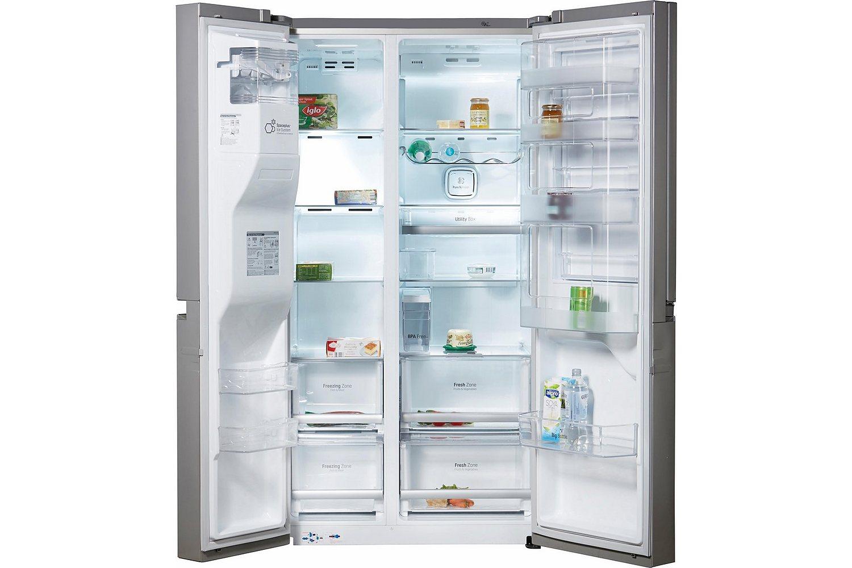 [Media Markt / @ebay] LG GSJ 961 NEAZ Side-by-Side (601l gesamt, 376 kWh/Jahr, A++, 1790 mm hoch, NoFrost, Wasser- & Eiswürfelspender, LED-Beleuchtung, App-Steuerung für SmartDiagnosis, Edelstahl)