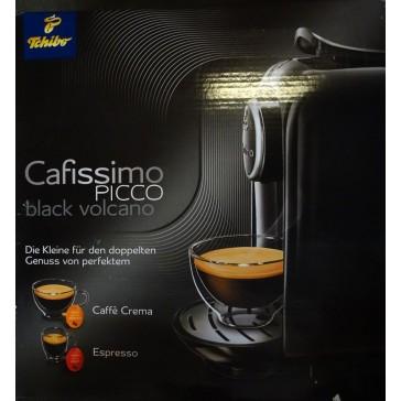 Tchibo Cafissimo Picco Kaffeekapselmaschine Kaffeemaschine Black Volcano