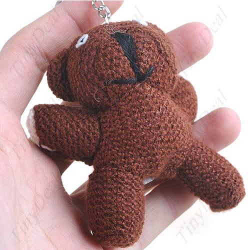Mini Mr. Bean Teddy Schlüsselanhänger für 1.54€ @ Tinydeal