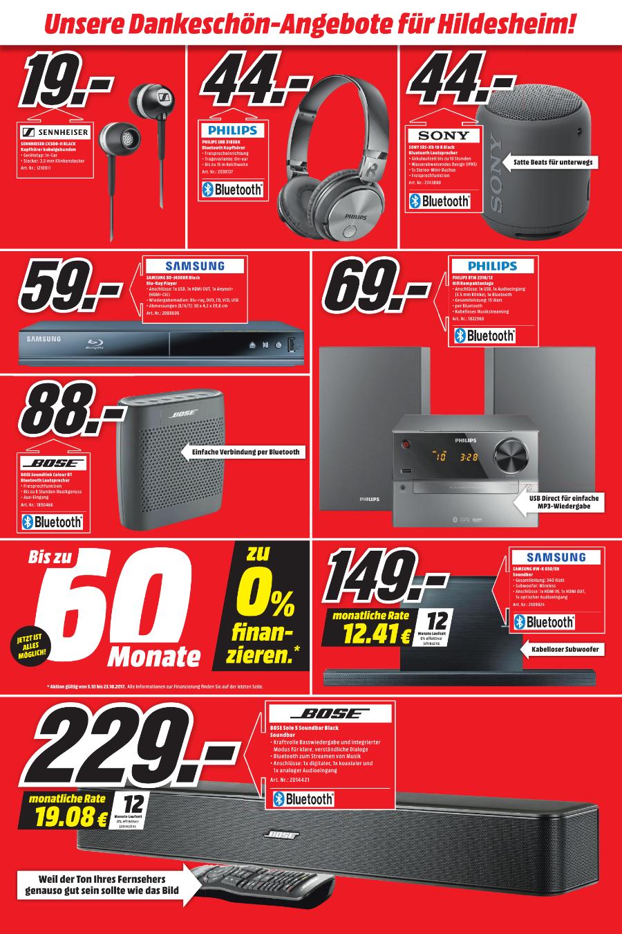 Samsung HW-K650 149,- euro anstatt 349,- euro (schwarz) - 3.1 Soundbar (340 W, Bluetooth, USB, HDMI, Multiroom)  (Mediamarkt Hildesheim)