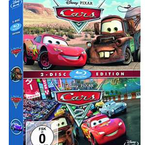 [Amazon Prime] Disney's Cars 1+2 - Collection (Blu-ray) für 11,99 €