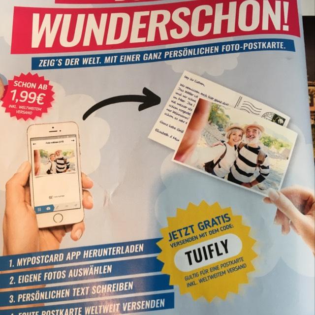 Gratis Postkarte versenden vom Smartphone