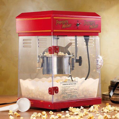 Retro Popcornmaschine der Extralative (50er Jahre Stil)