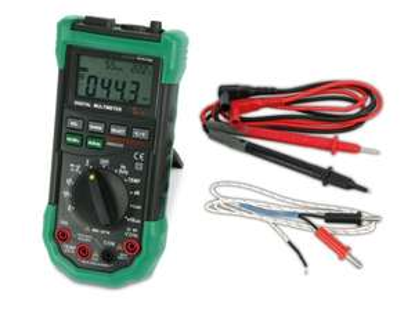 Bei Pollin gibt es nur heute das 5 in 1 Digital-Multimeter MASTECH MS8229G versandkostenfrei