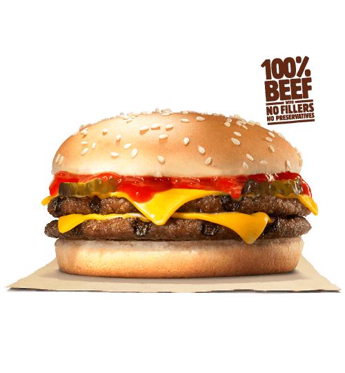 Burger King: Zwei Double Cheeseburger für 3,19€