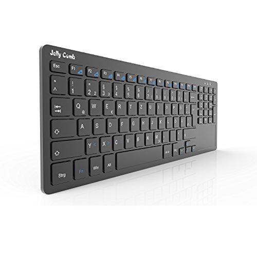 Kabellose Tastatur - All-in-One Media Ultradünne Tastatur mit Touchpad und Nummernblöcke  um 16,99€ statt 26,99€ 20° Kabellose Tastatur - All-in-One Media Ultradünne Tastatur mit Touchpad und Nummernblöcke um 16,99€ statt 26,99€