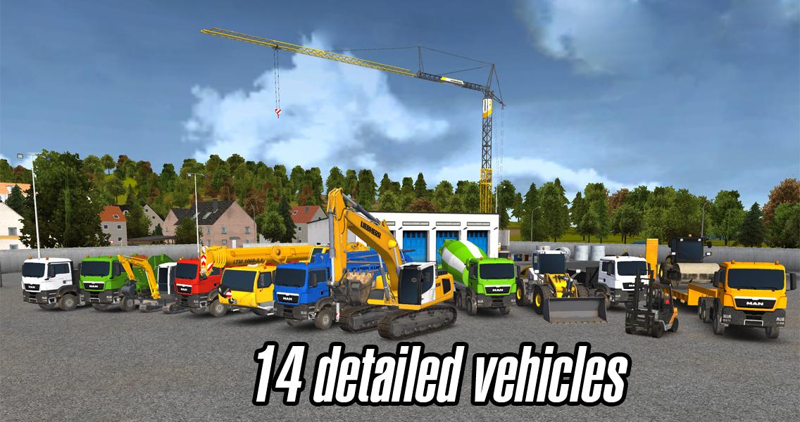 Bau-Simulator 2014 für 10 Cent @ Google Play