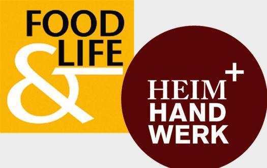 """Freikarten (Tagesticket) für die Messen """"HEIM+HANDWERK"""" und """"FOOD & LIFE"""" in München (29.11. - 3.12.2017)"""