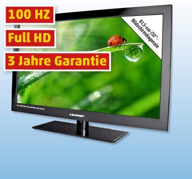 "Blaupunkt B32P189TCSFDH-100 - 32"" LED-TV + FULL HD + Triple Tuner - 199€"