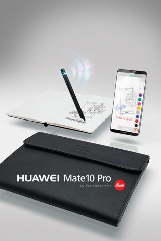 HUAWEI Mate10 Pro vorbestellen und ein Moleskine® Smart Writing Set inkl. Tasche sichern