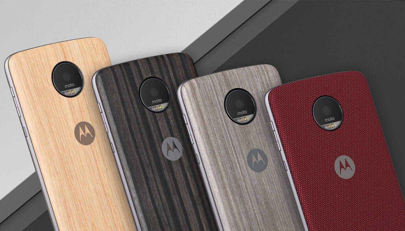 Moto Z Serie Style Shell (Moto Mods) bei Motorola.de für je 7 €