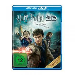 [3D-Blu-ray] Harry Potter 7.2 in 3D bei redcoon für 14,99€
