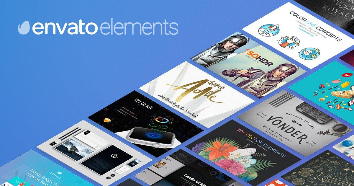 Templates - Flash Sale bei Envato Elements Flatrate im Abo für nur 19,21€ statt 28€
