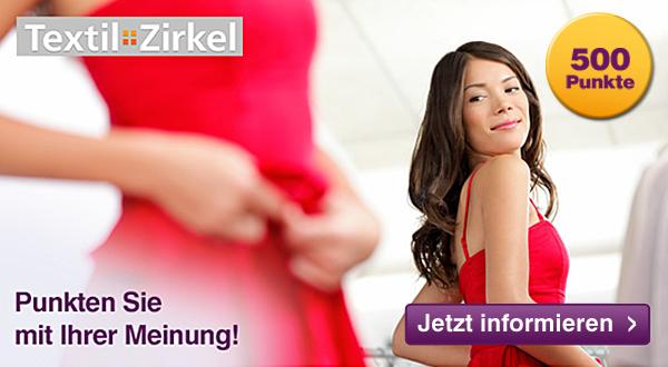 500 DeutschlandCard Punkte für Anmeldung bei Textilzirkel GfK