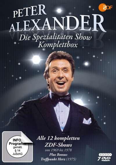 Peter Alexander: Die Spezialitäten Show - Komplettbox (7 Discs) @Amazon / jpc