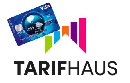 Dauerhaft kostenlose Kreditkarte inkl. 100€ Amazon Gutschein zu jedem Smartphonetarif bei Tarifhaus