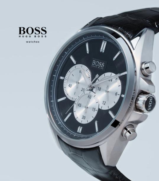 Der Boss trägt Boss: Armbanduhren von BOSS in der Zalando Lounge