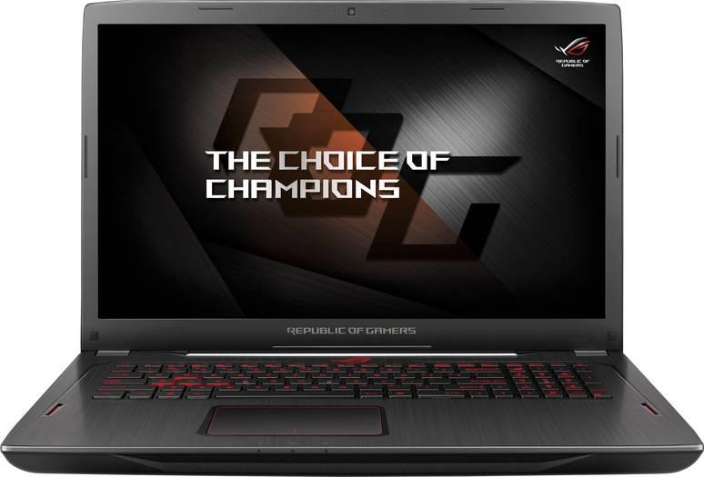 ASUS ROG Strix GL702ZC mit Ryzen 7 1700 (8x 3.00GHz, Turbo 3.70GHz), Radeon RX 580, 17,3 Zoll FreeSync, 8GB RAM, 1TB SSHD, Windows