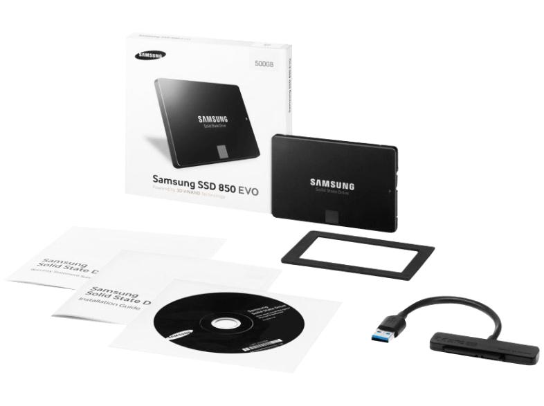 SSD Samsung 850 EVO 500GB Starter Kit (Idealo inkl. VSK 185€)