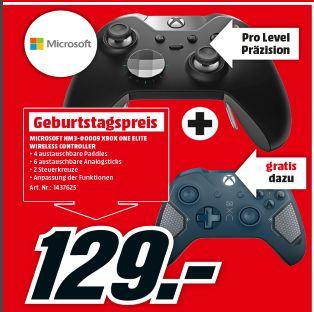 [Lokal Österreich-Wiener Neusatdt] Microsoft Xbox One Elite Wireless Controller + Microsoft Xbox Wireless Controller Patrol Tech für 129,-€
