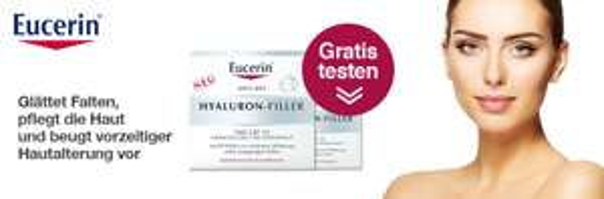Apo-Rot Hyaluron Filler Probe gegen Falten
